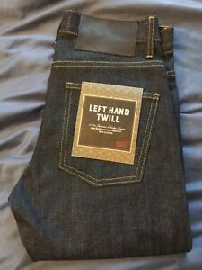 Naked and Famous Selvedge jeans brand new sz 30 x 34
