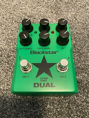 Blackstar LT Dual Distortion Overdrive Guitar Effects Pedal - BOXED