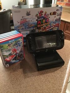 Console Nintendo Wii U avec jeux