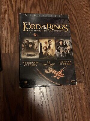 The Lord of the Rings: The Motion Picture Trilogy (DVD, 2004, 6-Disc Set)