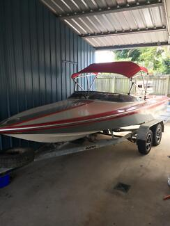 Lewis ski boat Runaway Bay Gold Coast North Preview