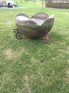 METAL FIRE BOWLS AND CONE LINERS