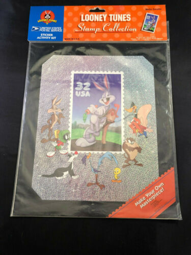 LOONEY TUNES STAMP COLLECTION 1997 MADE IN THE USA