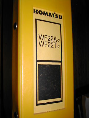Komatsu Wf22at-2 Parts Book Manual Catalog Soiltrash Compactor Guide Book List