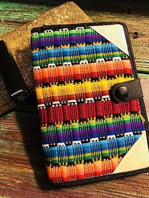 New Handmade & Crafted Small Embroidered Bright Light Journal Notepad (Light Notepad)