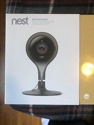 Nest Cam Indoor Security Camera Brand New Fully Sealed NC1102ES