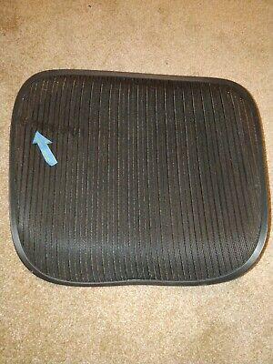 Herman Miller Aeron Chair Seat Mesh Black Pellicle With Blemish Size C Large 92