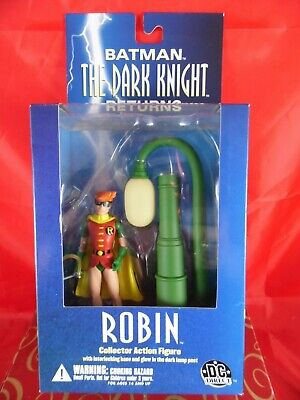 DC Direct THE DARK KNIGHT Robin Action Figure & Lamp Post FRANK MILLER DESIGN