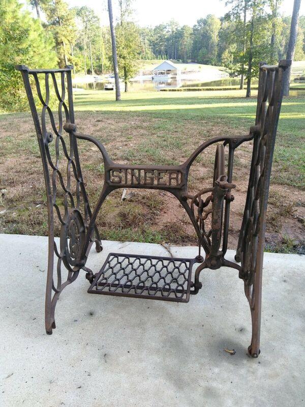 Antique Singer Treadle Sewing Machine Base