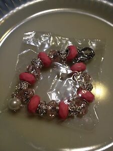 NEW* Ladies Pink with Faux Pearls and Crystals London Ontario image 4