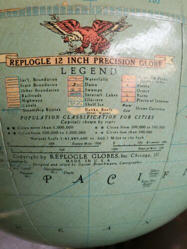 12 inch Replogle diameter globe