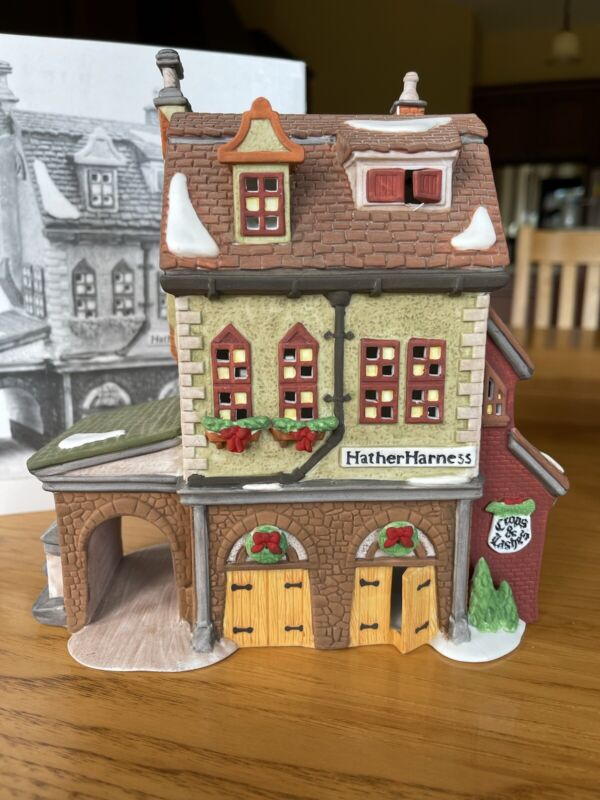 heritage village collection department 56 Dickens Village Series Hather Harness