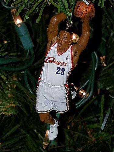 lebron JAMES cleveland CAVALIERS basketball xmas TREE ornament HOLIDAY jersey 23