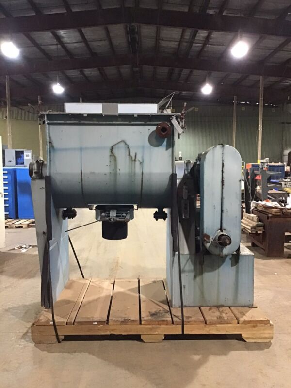Patterson 10HP Jacketed Stainless Ribbon Approx 30 CF Blender Mixer