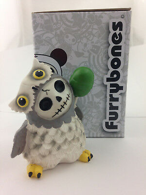 Furrybones® SNOW HOOTIE the Owl Skeleton in Costume #8143