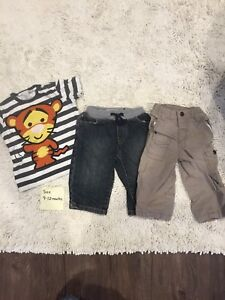 Boy size 9-12 month clothing