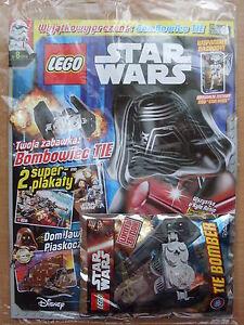 LEGO Star Wars Magazine 8/2016 TIE BOMBER - Limited Edition Minifigure - Czestochowa, Polska - LEGO Star Wars Magazine 8/2016 TIE BOMBER - Limited Edition Minifigure - Czestochowa, Polska