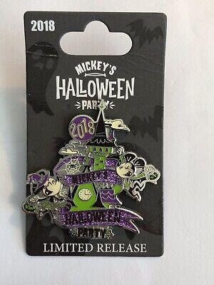 Halloween Party Logo (DLR - Mickey's Halloween Party 2018 Logo Disney Pin)