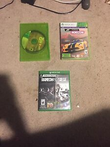 2 Xbox 360 games and one Xbox one game