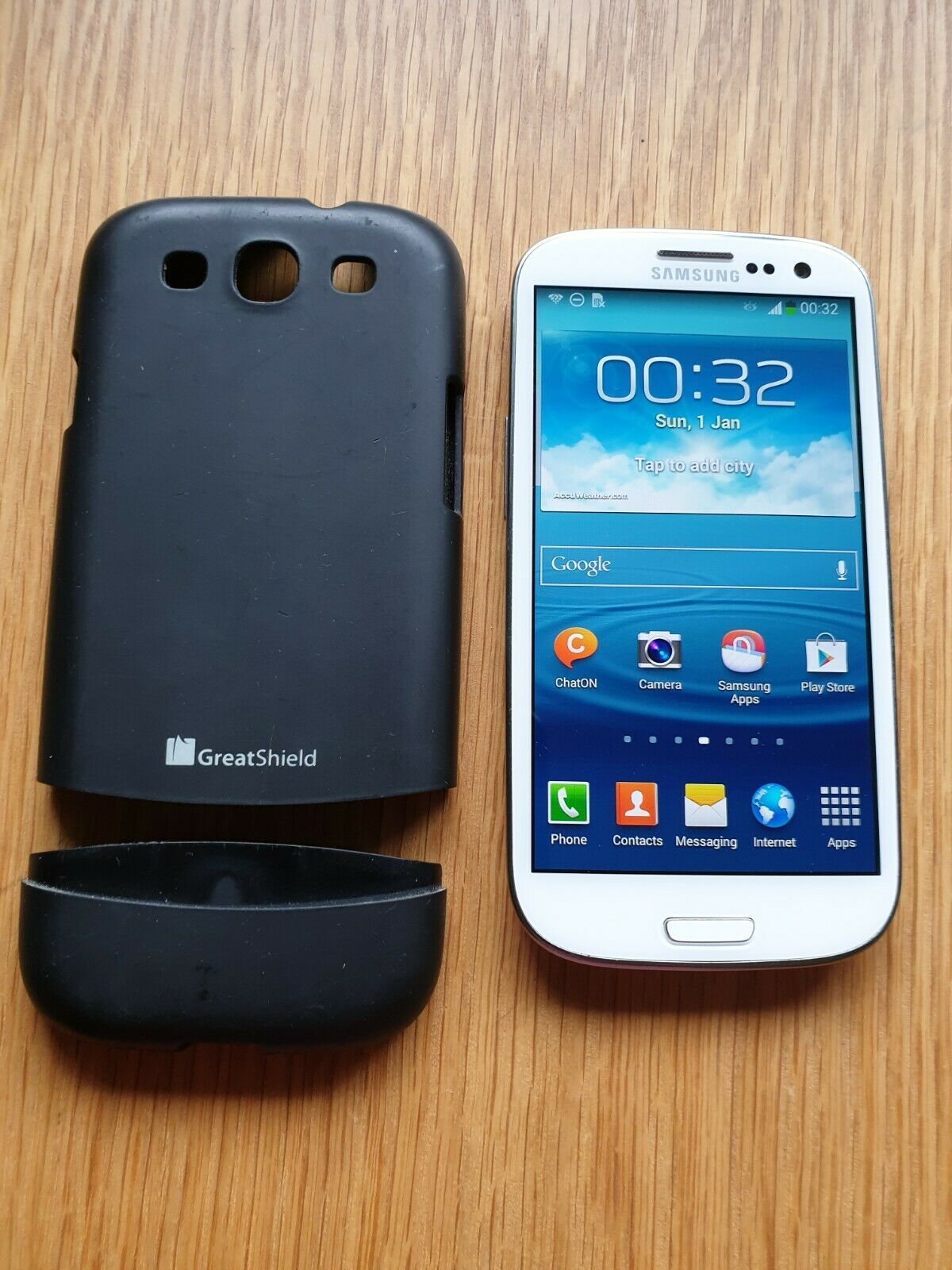 Android Phone - SAMSUNG GALAXY S3 MOBILE PHONE ANDROID SMARTPHONE WHITE
