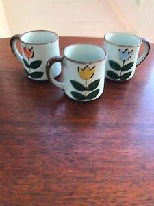 Set of 3 gorgeous ceramic mugs Mosman Mosman Area Preview