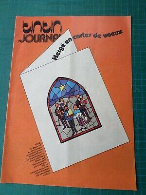Tintin journal - Hergé en cartes de voeux - 8 pages - 1976