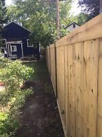 Fence, Decks (new or replacement) we do it all