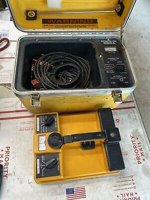 Dynatel Model 500a Rfaudio Cable Locator Wire Tracer Tracker Ed4u 8200