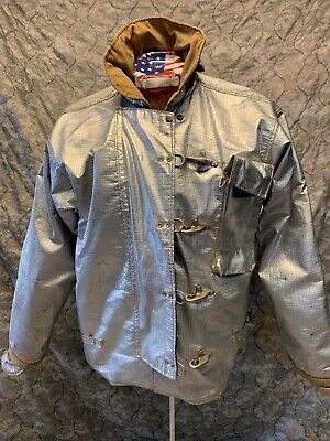 Jacket Firefighter Size 44 Aluminized Turnout Bunker Fire Gear B-11
