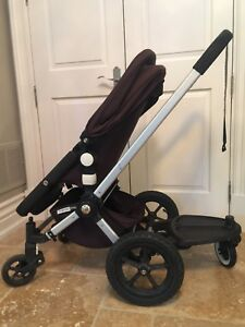 Bugaboo Frog Stroller System in Black (+ Accessories!)