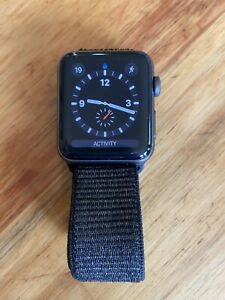 Apple Watch series 3 42mm with black sports band Brighton Bayside Area Preview