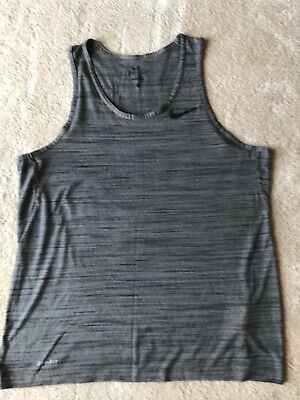 Mens Nike Dri-Fit Grey Vest Size L