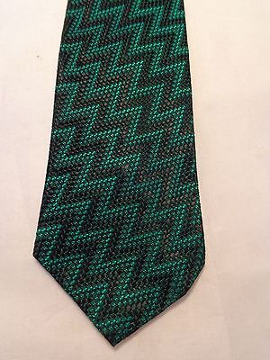 "VINTAGE MENS TIE 1950'S 1960'S 1970'S FASHION FUN SKINNY 2.5"" X 53.5"""