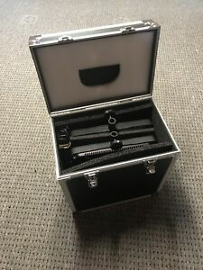 Set of two 600 led's video lights with case