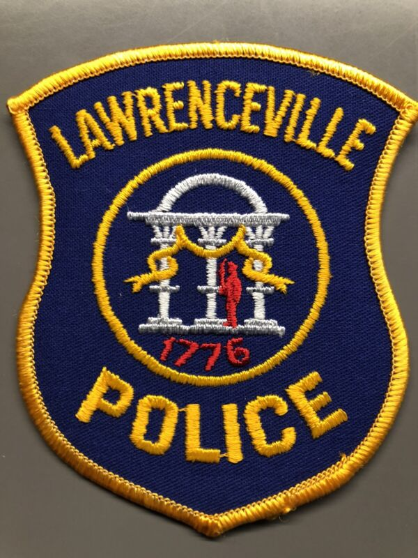 Lawrenceville Georgia Police Patch ~ New Condition