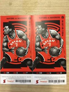 Raptor Tickets for Sale