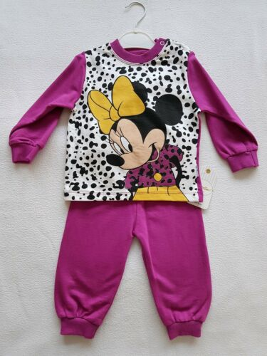 LETZTES Mädchen Baby Girl 2tlg Set, Jogger Pullover Hose Gr.86 Minnie Mouse NEU!