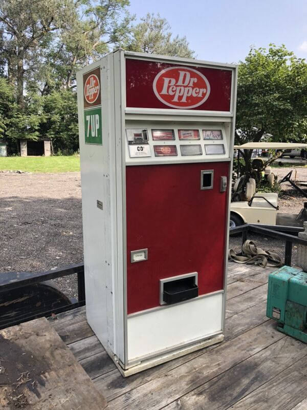 Dixie Narco Dr Pepper Pop Can Soda Machine Vintage Man Cave Project Central Ill