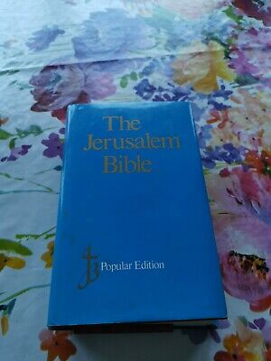JERUSALEM BIBLE POPULAR EDITION FREE P&P