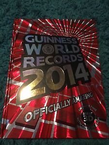 Guinness world record book 2014