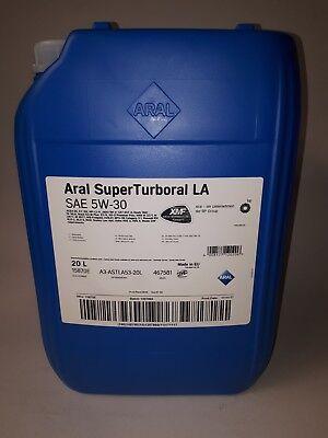 ARAL SuperTurboral LA 5W-30 , 1 x 20 Liter Motoröl Nutzfahrzeuge LKW