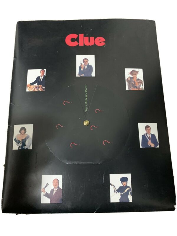 Vintage Clue (1985) Press Kit Photographs *RARE* (Tim Curry) Great Condition