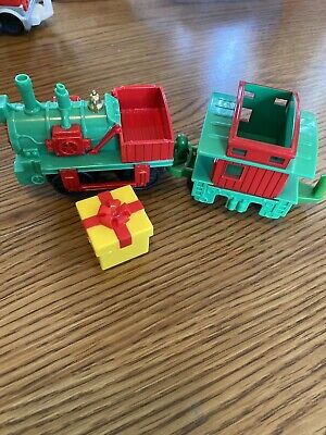 Fisher Price Geotrax Holiday Train Set, Christmas EUC, from Toys R Us