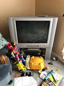 Free JVC TV and Stand
