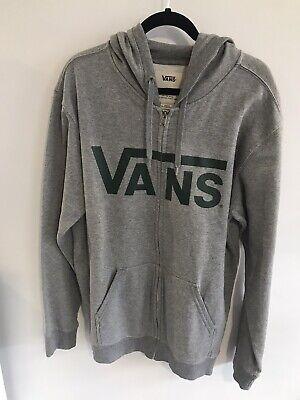 mens vans hoodie large