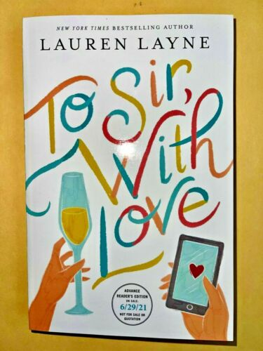 TO SIR, WITH LOVE (BRAND NEW ARC PAPERBACK!) UNREAD/UNOPENED