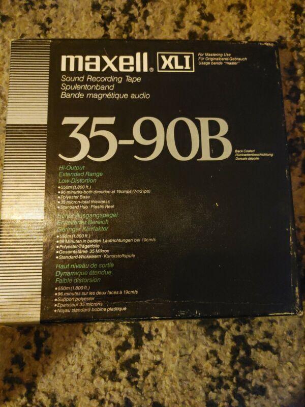 Maxell 35-90B Reel to Reel Tape