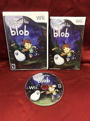 A Boy and His Blob (Nintendo Wii, 2009) CIB COMPLETE VGC L👀K
