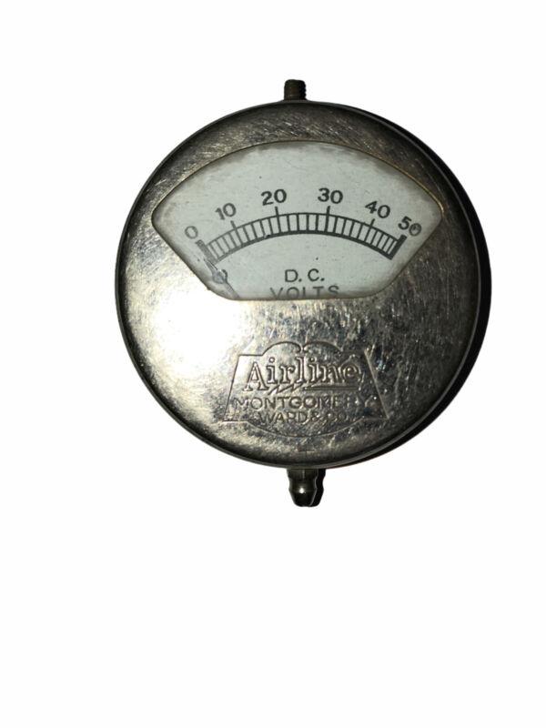 Vintage Airline Montgomery Ward & Co. Volts Voltage Tester 62-6586
