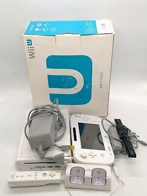 Nintendo Wii u console videogiochi usata con scatola parzialmente funzionante